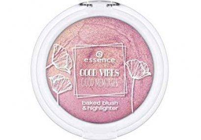 essence GOOD VIBES GOOD MEMORIES baked blush & highlighter 01
