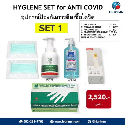 HYGIENE SET for ANTI COVIT 1