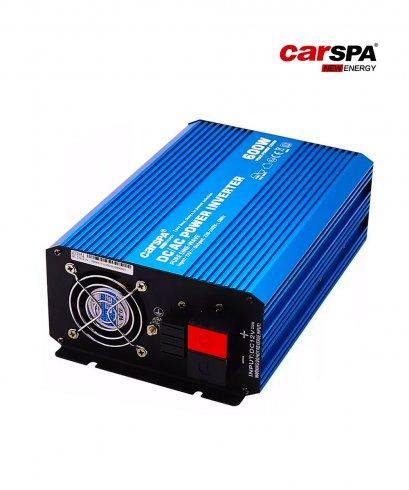600W อินเวอร์เตอร์ Carspa Pure Sine 12V