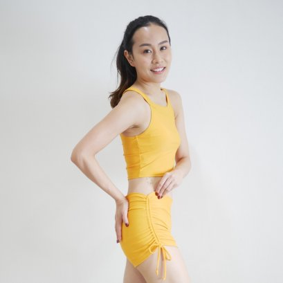Yoga Shorts - Mandarin