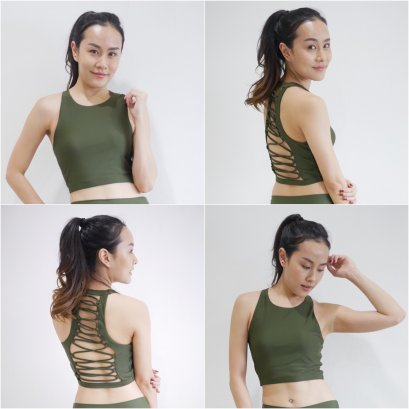 ELLIS BRA - MILITARY GREEN