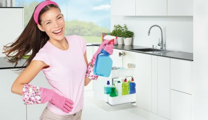 ห้องครัวสะอาด เป็นระเบียบ ด้วย Cooking Agent, Cleaning Agent