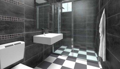 Black&White Mood  แต่งห้องน้ำให้สวยเดิร์น ในโทนขาว-ดำ
