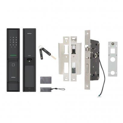 ชุดล็อคประตูระบบดิจิตอล PP8100 สีดำ