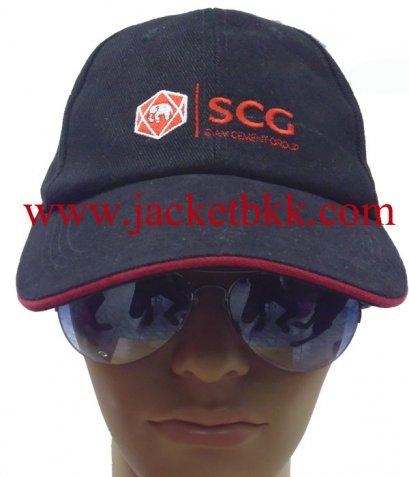 หมวกแก๊ปสำเร็จรูป-ปัก SCG