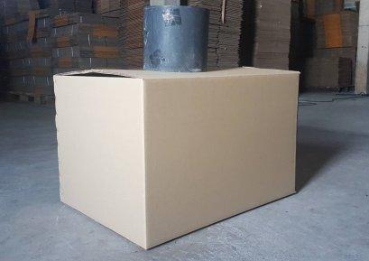 กล่องกระดาษ 5 ชั้น ขนาดใหญ่  ไม่พิมพ์