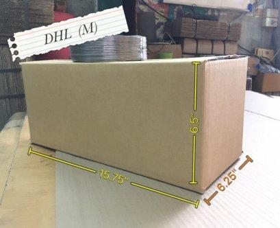 กล่องกระดาษ 3 ชั้น DHL (M)