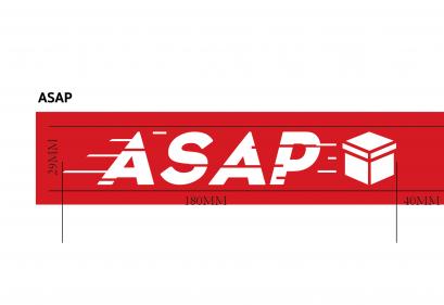 (ASAP) เทปพิมพ์ลาย เทประวังแตก tape fragile