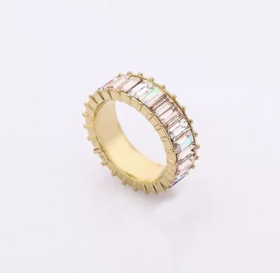 Signature Crystal Ring ( Crystal clear )