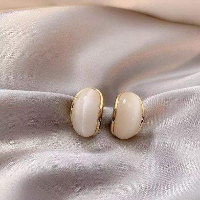 Opale - Opal stud earrings