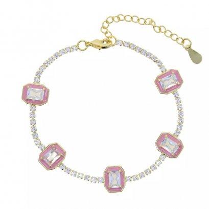 Classic Crystal Bracelet in pastel