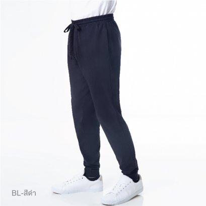 กางเกงขายาว Cotton 100% รหัส SPTDA6 สีดำ