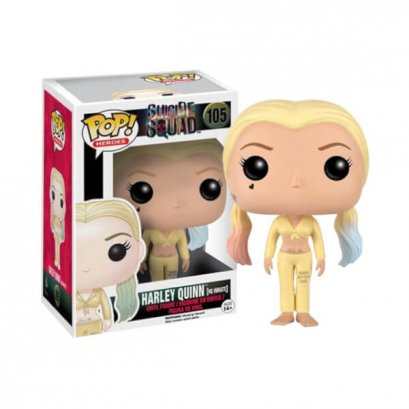 Harley Quinn AS Inmate #105 Funko Pop! HEROES : Suicide Squad
