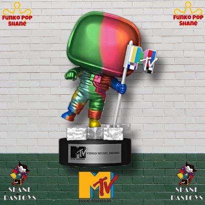 Funko Pop! MTV Moon Person Rainbow