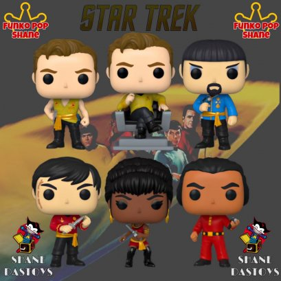 Funko Pop! TELEVISION : Star Trek