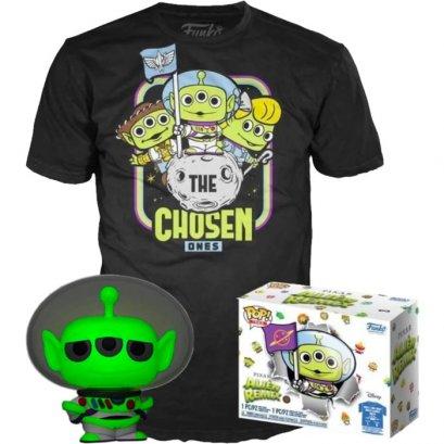 Funko Pop! Tee Box Set : Toy Story - Alien Remix Buzz Lightyear