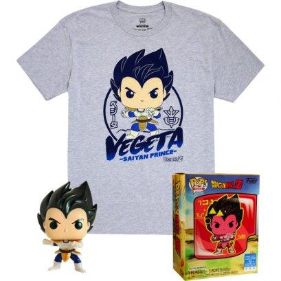 Funko Pop! Tee Box Set : Dragon Ball Z - Vegeta