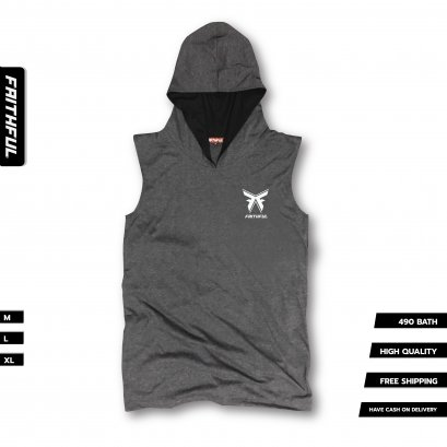 FAITHFUL HOOD® V.0 - GRAY