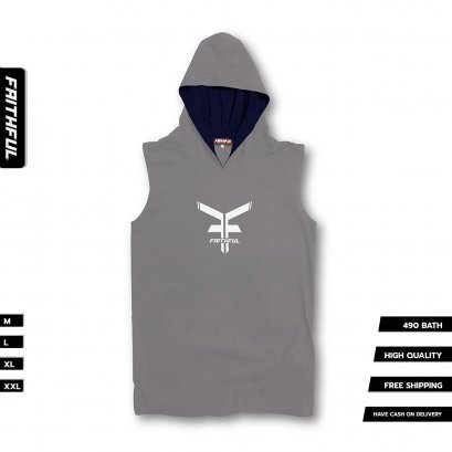 FAITHFUL HOOD® V.1 - GRAY