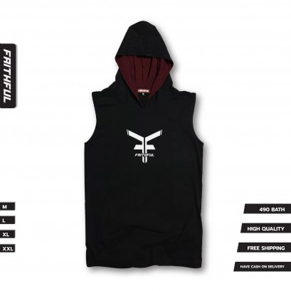 FAITHFUL HOOD® V.1 - BLACK
