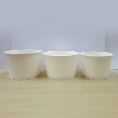 Paper cup ice cream 8 oz