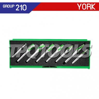 ชุดดอกเจียร์คาร์ไบด์ 8 ตัว แกน 6 มม. YRK-210-9920K