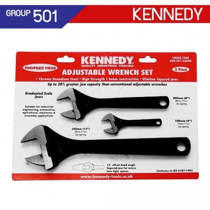 ชุดประแจเลื่อน KEN-501-0600K , KEN-501-0620K