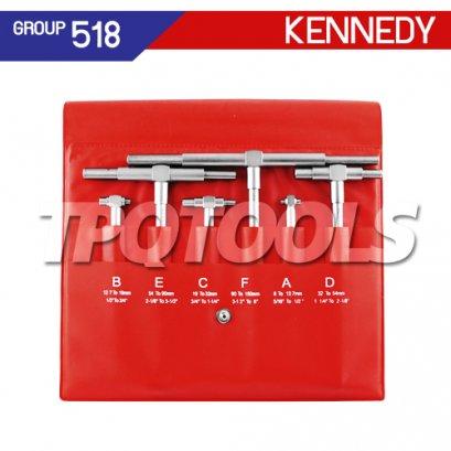 ชุดเกจวัดรูใน 6 ตัว KEN-518-1180K