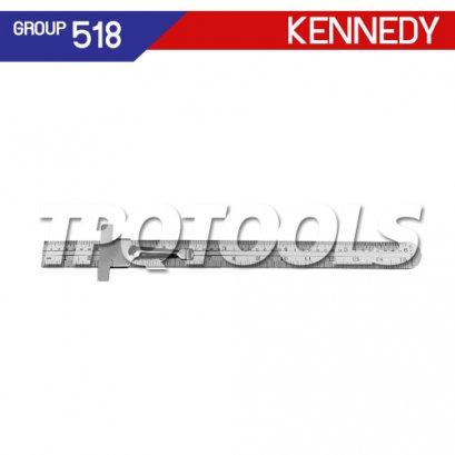 ไม้บรรทัดสแตนเลสสตีล KEN-518-3510K