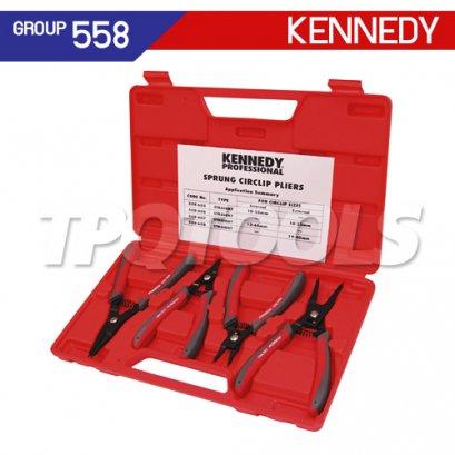 ชุดคีมหุบ-ถ่างแหวน KEN-558-6090K