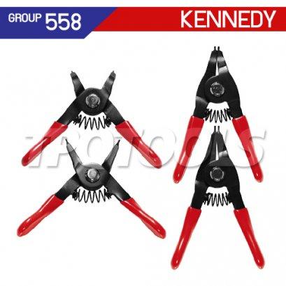 ชุดคีมหุบ-ถ่างแหวน KEN-558-6160K