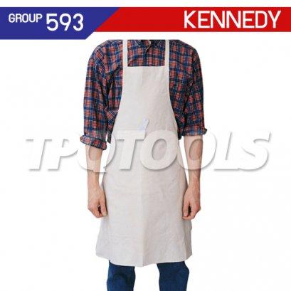 ผ้ากันเปื้อนมีกระเป๋า KEN-593-4010K