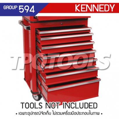 ตู้เครื่องมือช่าง 7 ลิ้นชัก มีล้อเลื่อน KEN-594-4840K