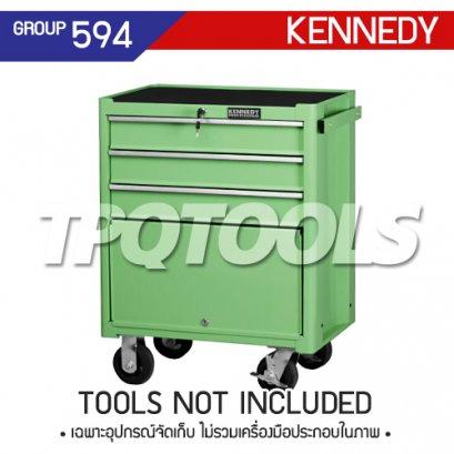 ตู้เครื่องมือช่าง 3 ลิ้นชัก มีล้อเลื่อน KEN-594-5510K