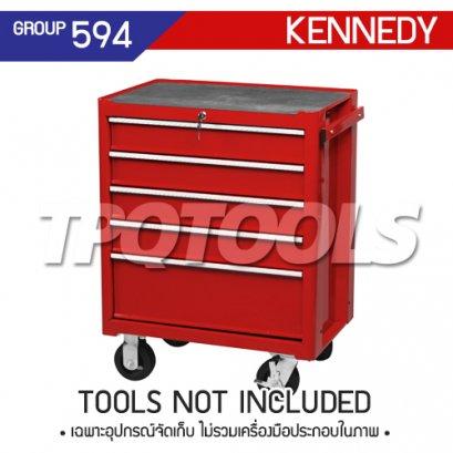 ตู้เครื่องมือช่าง 5 ลิ้นชัก มีล้อเลื่อน KEN-594-5540K