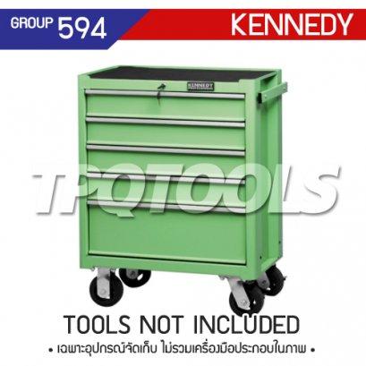 ตู้เครื่องมือช่าง 5 ลิ้นชัก มีล้อเลื่อน KEN-594-5550K
