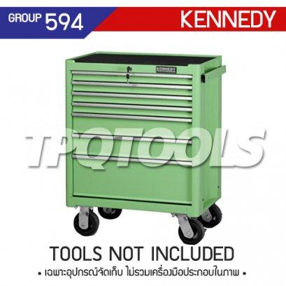 ตู้เครื่องมือช่าง 7 ลิ้นชัก มีล้อเลื่อน KEN-594-5590K