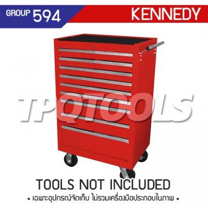 ตู้เครื่องมือช่าง 11 ลิ้นชัก มีล้อเลื่อน KEN-594-5740K