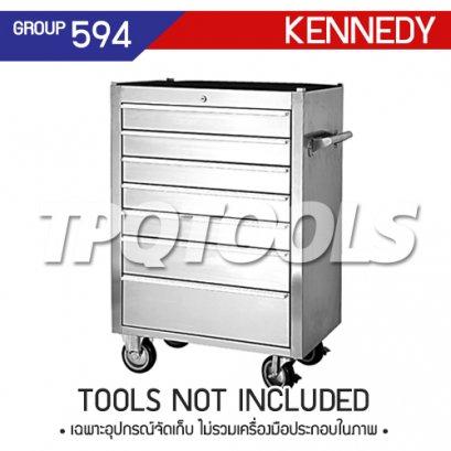 ตู้เครื่องมือช่าง 11 ลิ้นชัก มีล้อเลื่อน KEN-594-6020K