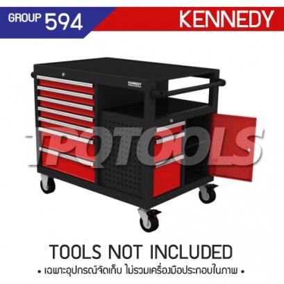 ตู้เครื่องมือช่าง 10 ลิ้นชัก มีล้อเลื่อน KEN-594-6800K