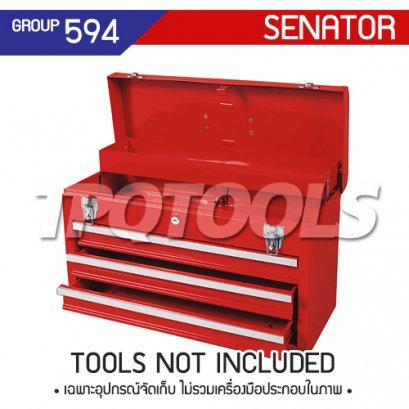 ตู้เครื่องมือช่าง 3 ลิ้นชัก ไม่มีล้อเลื่อน SEN-594-0200K
