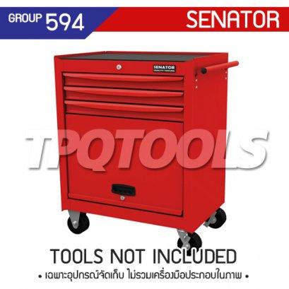 ตู้เครื่องมือช่าง 3 ลิ้นชัก มีล้อเลื่อน SEN-594-1530K