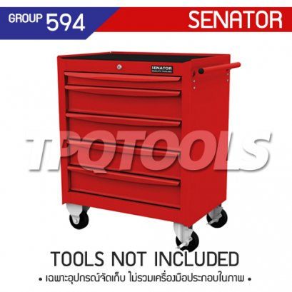 ตู้เครื่องมือช่าง 5 ลิ้นชัก มีล้อเลื่อน SEN-594-1550K