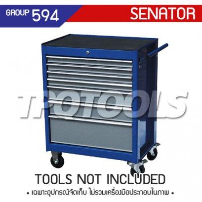 ตู้เครื่องมือช่าง 7 ลิ้นชัก มีล้อเลื่อน SEN-594-5580K