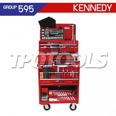 ชุดตู้เครื่องมือช่าง 208 ชิ้น KEN-595-0550K