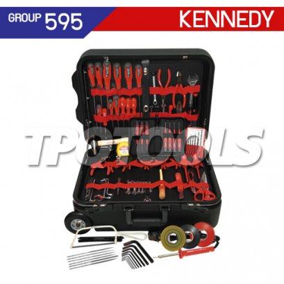 ชุดกระเป๋าเครื่องมือช่าง 102 ชิ้น KEN-595-3020K