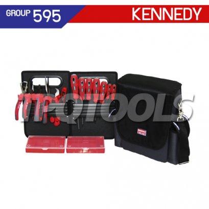 ชุดกระเป๋าเครื่องมือช่าง 16 ชิ้น KEN-595-3400K