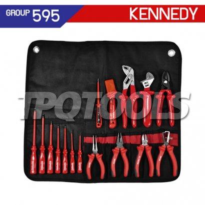 ชุดซองเครื่องมือช่าง 17 ชิ้น KEN-595-3420K
