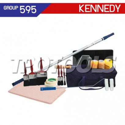 ชุดกระเป๋าเครื่องมือช่าง 18 ชิ้น KEN-595-4140K