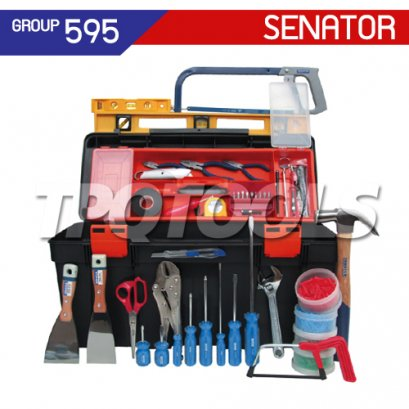 ชุดกล่องเครื่องมือช่าง 51 ชิ้น SEN-595-0520K